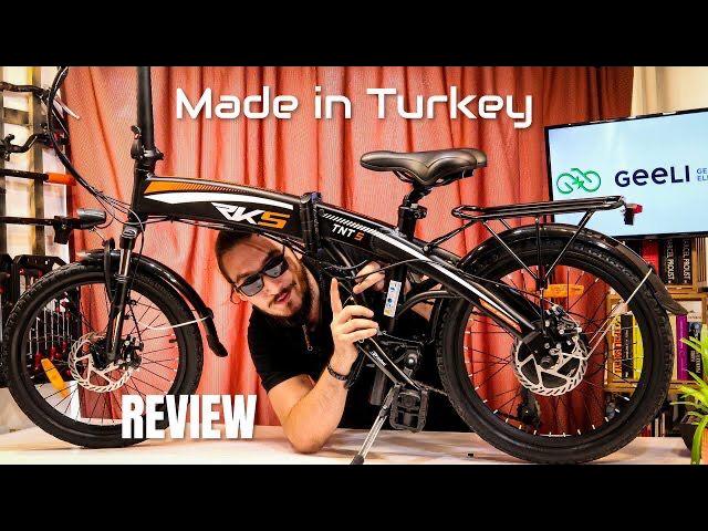 Review bicicletă electrică pliabilă RKS TNT5