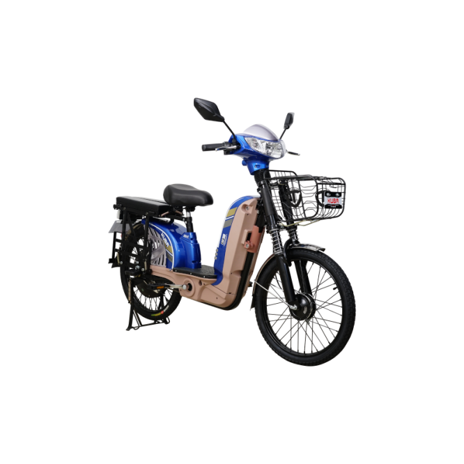 Bicicleta electrica RKS KM5-S-albastru